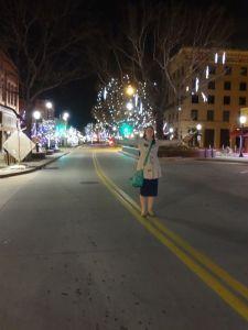 downtown GJ Christmas lights